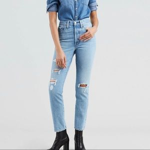 Vintage 501 Skinny Women's Jeans. Size 26x28.